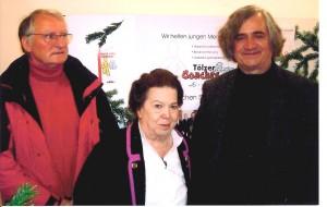 BSB Vorsitzende Christine Lenk mit den Tölzer Coaches